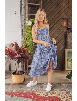 Birds Of Paradise Midi Dress by American Threads