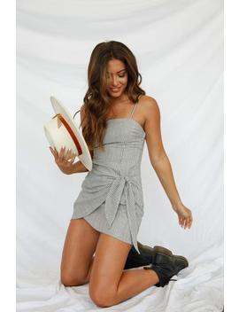 Wake Up Striped Mini Dress by American Threads