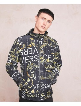 Reversible Baroque Jacket by Versace Jeans