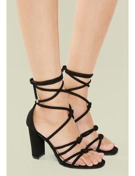 Zen Strappy Heel   Black by Superbalist
