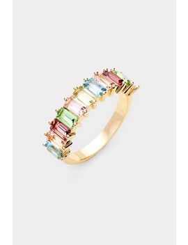 Gold Rainbow Ring by Embellish Your Life, Pennsylvania