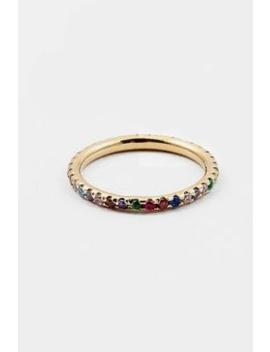 Rainbow Cz Ring by Embellish Your Life, Pennsylvania