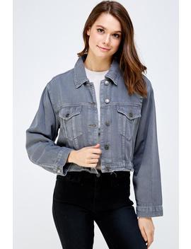 Distressed Denim Jacket by Dor L'dor, New York