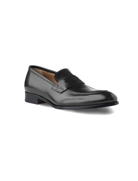 Penny Loafer Brody In Dark Grey Antique by Ace Marks