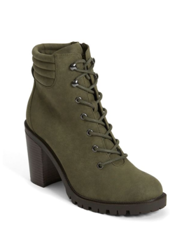 Jodey Lace Up Hiker Boots by G By Guess