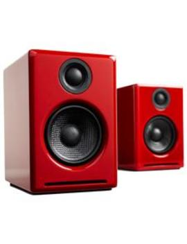 Audioengine A2+ Wireless Desktop Speakers   Gloss Red by Mwave