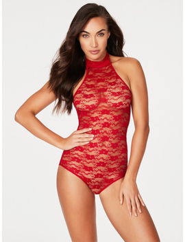 Margarita Floral Lace Teddy by Frederick's Of Hollywood