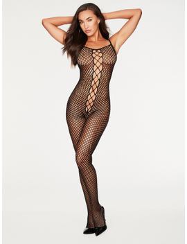 Dixie Fishnet Bodystocking by Frederick's Of Hollywood