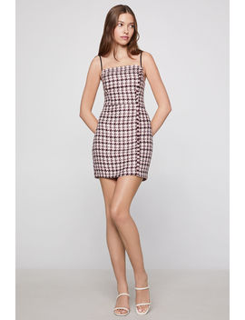 Houndstooth Mini Dress by Bcbgeneration