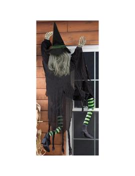 5' Climbing Witch Halloween Décor5' Climbing Witch Halloween Décor by Kmart