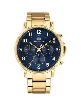 Tommy Hilfiger 1710384 Men's Day Date Wristwatch by Tommy Hilfiger