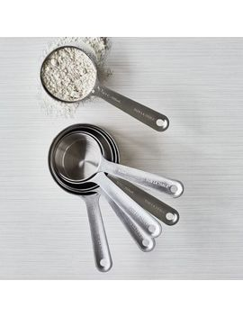 Sur La Table Stainless Steel Measuring Cups, Set Of 6 by Sur La Table