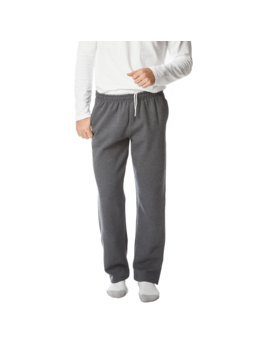 Gildan Men's Open Bottom Pocketed Sweatpant by Gildan
