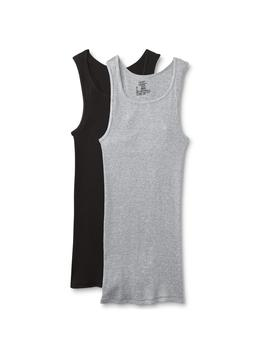 Hanes Men's 2 Pack Comfort Soft Tank Tops by Hanes