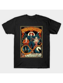 Sanderson Sisters Hocus Pocus Vintage T Shirt by Lephart