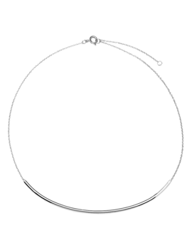Alpha Silver Necklace by P D Paola