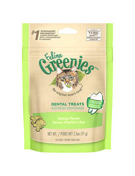 Feline Greenies® Dental Cat Treat   Catnip by Greenies