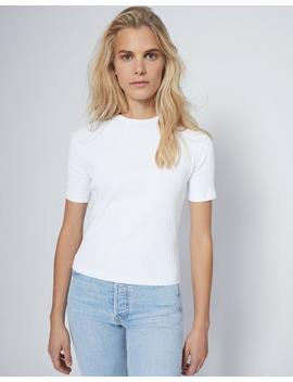 Ribbed Short Sleeve Tee by Re/Done