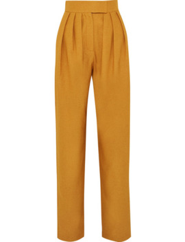pleated-twill-pants by matÉriel