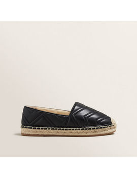 Frida Leather Espadrille by Seed Heritage