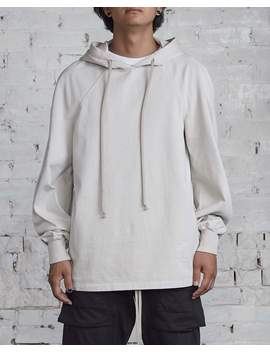 Rick Owens Drkshdw Jumbo Hoody Oyster Rig by Less 17