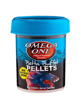 Omega™ Betta Buffet Pellets Fish Food by Omega One