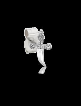 Diamond Dagger With Trinity Hilt Earstud by Maria Tash