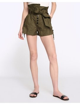 Gia Canvas Shorts In Forest by Marissa Webb