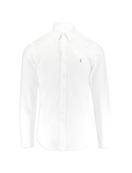 Bsr Slim Fit Oxford Long Sleeved Shirt by Ralph Lauren
