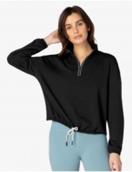 By Request Cropped Pullover by Beyond Yoga