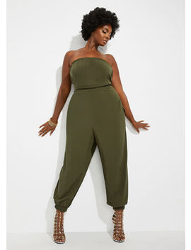 The Misha Jumpsuit by Ashley Stewart
