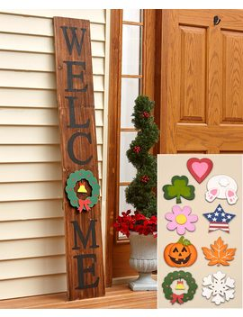 10 Pc. Interchangeable 5 Ft. Welcome Sign by Lakeside Collection