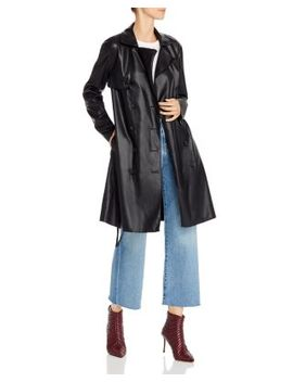 faux-leather-trench-coat---100%-exclusive by blanknyc