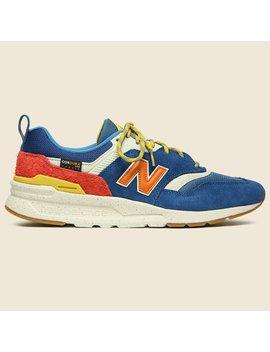 997 H Sneaker   Blue/Orange by New Balance