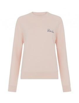 Blondie Sweatshirt Soft Pink by Maison Labiche