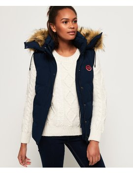 Rookie Down Gilet by Superdry