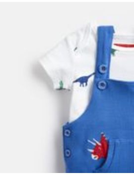 Wilbur Dungarees Set by Joules