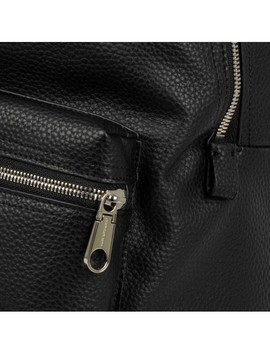 Calvin Klein Pebble Essential Campus Backpack Black by Calvin Klein