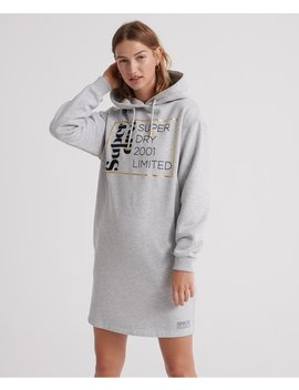 Oversized Scandi Hooded Dress by Superdry