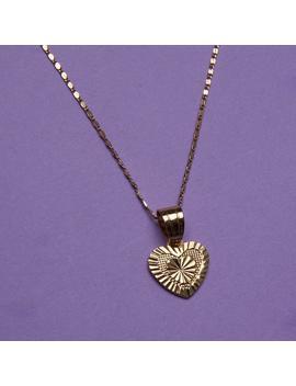 Diamond Cut Heart Necklace by Vida Kush