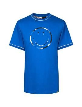 Smiley Splash Print Logo T Shirt by Pretty Green