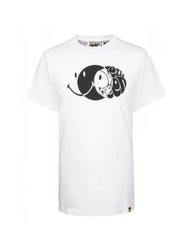 Smiley Eclipse Chest Print T Shirt by Pretty Green