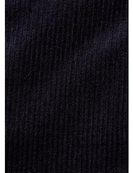 Corduroy Teddy Jacket by Anti Blue