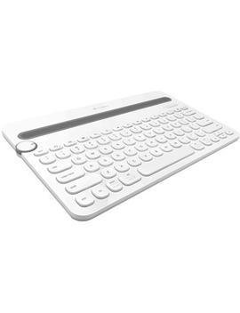 Logitech K480 Multi Device Wireless Keyboard (White) by Jb Hi Fi