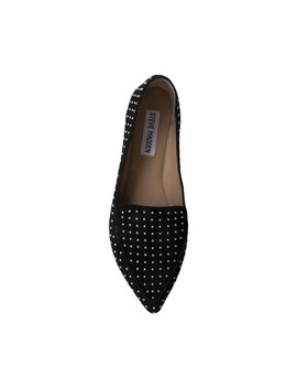 Feathers Black Suede by Steve Madden