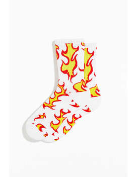 flame-sport-sock by urban-outfitters