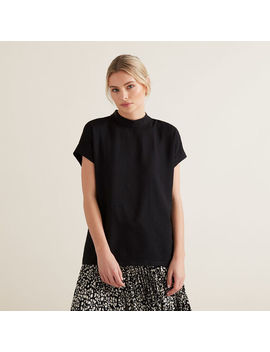 Mock Neck Top by Seed Heritage