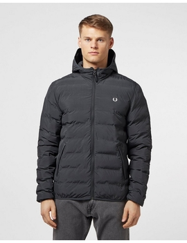 Bubble Hooded Jacket by Fred Perry