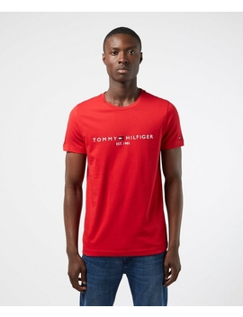 Logo Short Sleeve T Shirt by Tommy Hilfiger