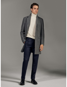 100%-wool-flannel-trousers by massimo-dutti